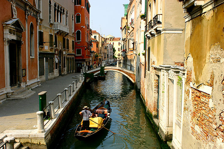 A typical gondola ride