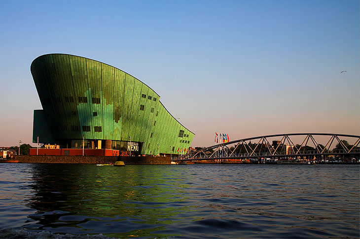 Nemo Museum: The science centre.