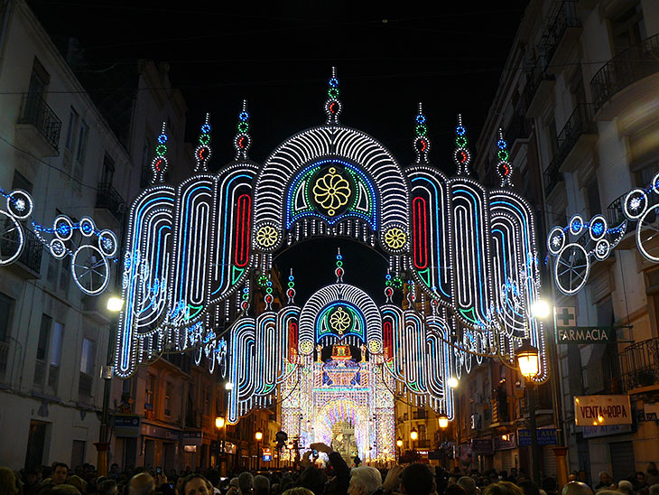 Illuminations des Fallas