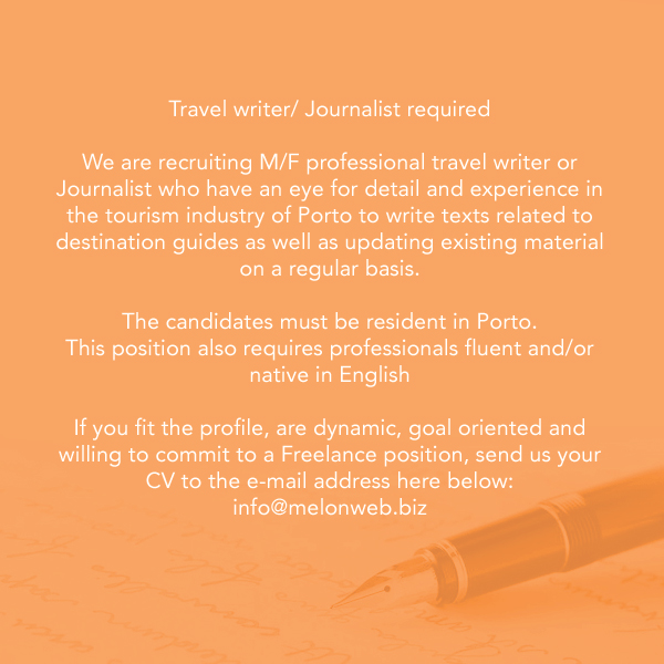 Porto Travel Writer